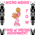 MICRO MIDGIE Small Penis Humiliation Fond of Writing Assignment! FOW