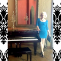 Channeling Marilyn in the PALM ROOM – Platinum Blonde CHANTEUSE