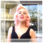 *PASTEL ROSE BLONDE BOMBSHELL* ~ PINUP PERFECTION!! DIVOON!